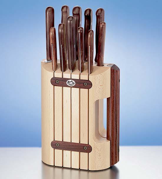 Подставка для кухонных ножей своими руками